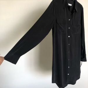 Equipment Dresses - NWT Equipment Black Slim Signature Dress Sz S
